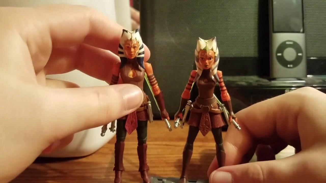 "Ahsoka Tano Star Wars The Black Series 3.75/"" Figurine Walmart EXCL"