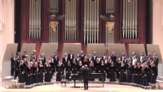 Ezekiel Saw De Wheel -- Baylor A Cappella Choir Fall Concert 2014