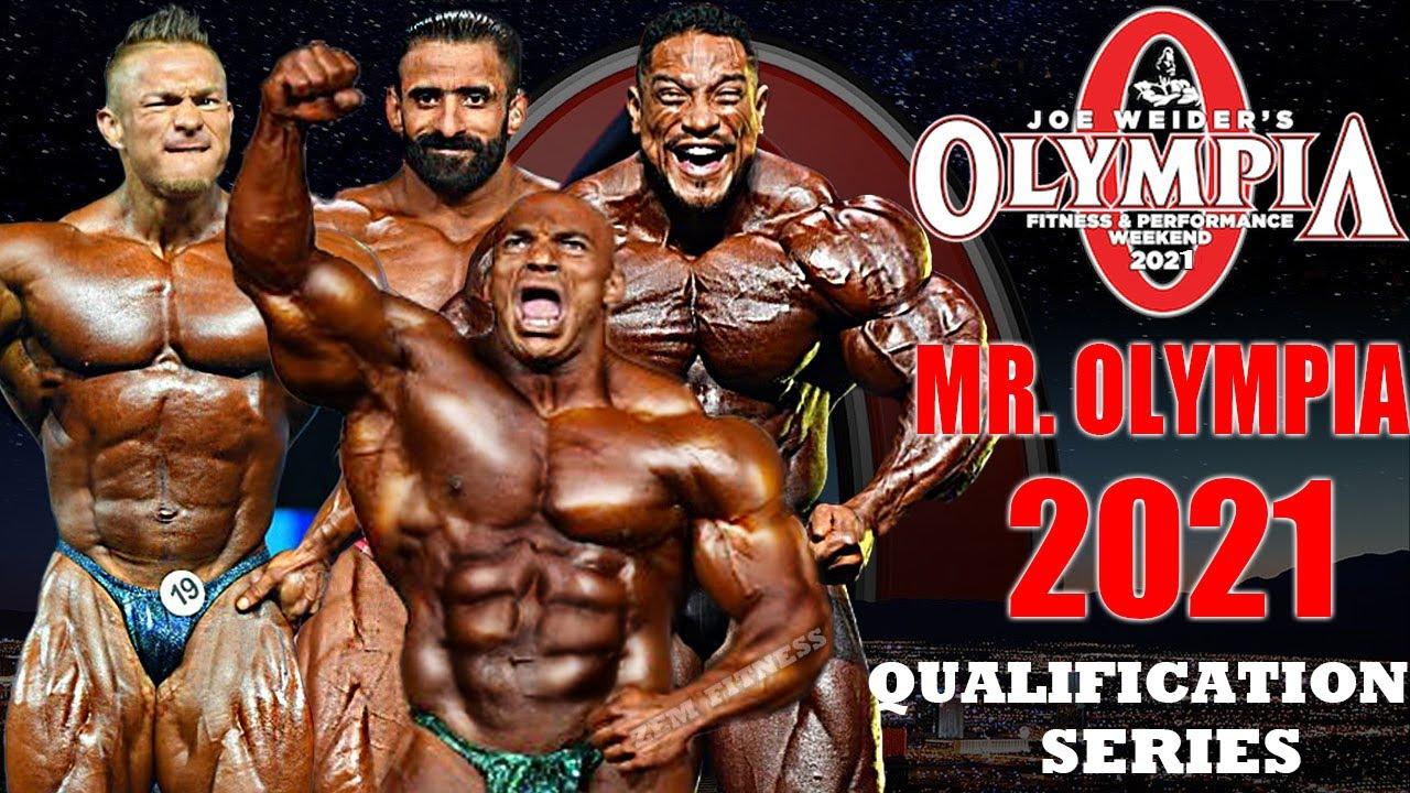 2021 Mr Olympia Qualified Bodybuilders Youtube
