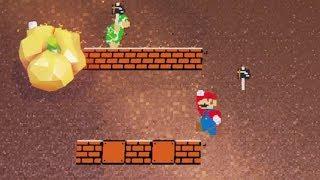 Luncheon Kingdom's 8-Bit Section (Super Mario Odyssey)