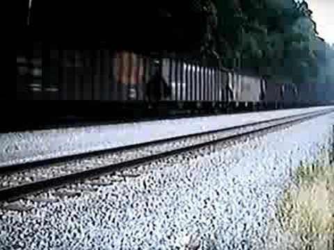 CSX Coal Train near Marmet, West Virginia in 9/1992