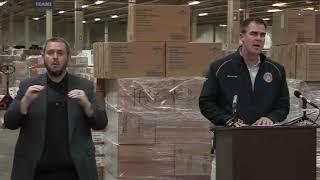 Coronavirus in Oklahoma: Stitt is 'cautiously optimistic' hospitalization rate flattening