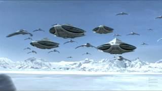 Stargate SG1 - Anubis Attacks Earth (Edited)