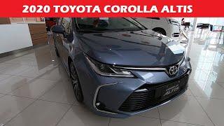 All New 2020 Toyota Corolla Altis 1.6 V CVT - Exterior and Interior | Philippines