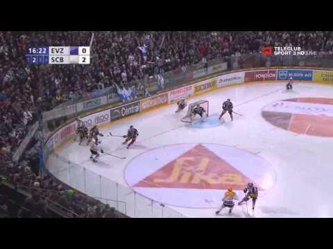 EV Zoug vs CP Berne -  dernier match des joueurs de NHL en Suisse