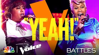 "Christine Cain vs. Pia Renee - Brandy ""Baby"" - The Voice Battles 2021"