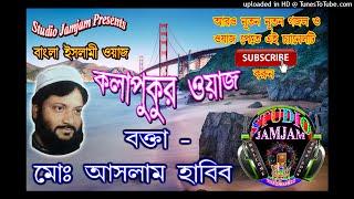 Kolapukur-jalsa-Aslam-Habib 2 ।। Waj Bangla New ।। Aslam Habib Saheb