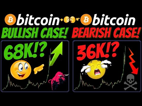 BITCOIN and ETHEREUM Bullish and Bearish case scenerio!!!