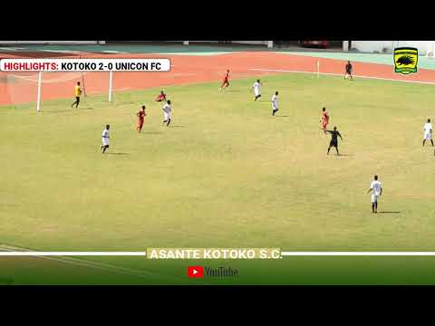 HIGHLIGHTS: ASANTE KOTOKO 2-0 UNICON FC [11-11-2018]