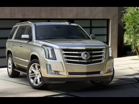 2015 Cadillac Escalade World Premiere with Cadillac Chief Engineer Dd Leone