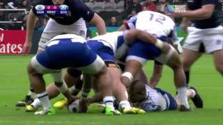RWC 2015 Scotland Vs Samoa