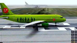 [HD]Infinite Flight Airbus A319.ATC.Multiplayer.Amazing takeof+ APPR landing