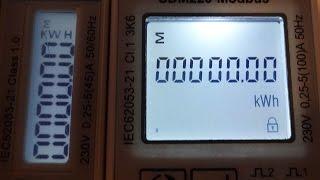 Эл. счётчики SDM120, SDM220. Часть 1. Знакомство