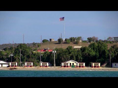 Entramos en el territorio cubano ocupado por Guantánamo