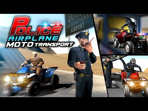 Police Airplane Moto Transport (by Vital Games Production) Android Gameplay [HD]