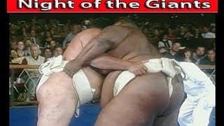 SUMO Wrestling - Night of the GIANTS!