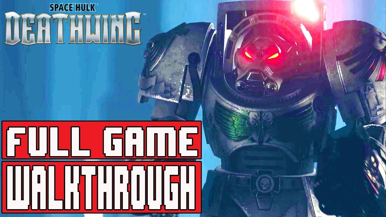 Space Hulk: Deathwing Walkthrough With Ending