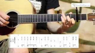 Man of Constant Sorrow - Carter Style Guitar Lesson - O