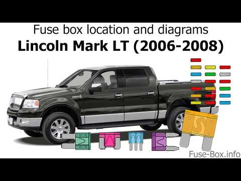 Fuse box location and diagrams: Lincoln Mark LT (2006-2008) - YouTubeYouTube