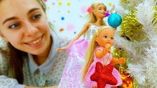 Новогодние видео про куклы Барби. Игры для девочек: елка на новый год. #ютуб канал для девочек(Супер новогодние видео для детей про куклы Барби на нашем ютуб канале для девочек. Любишь красивые #куклы..., 2016-11-16T10:57:32.000Z)