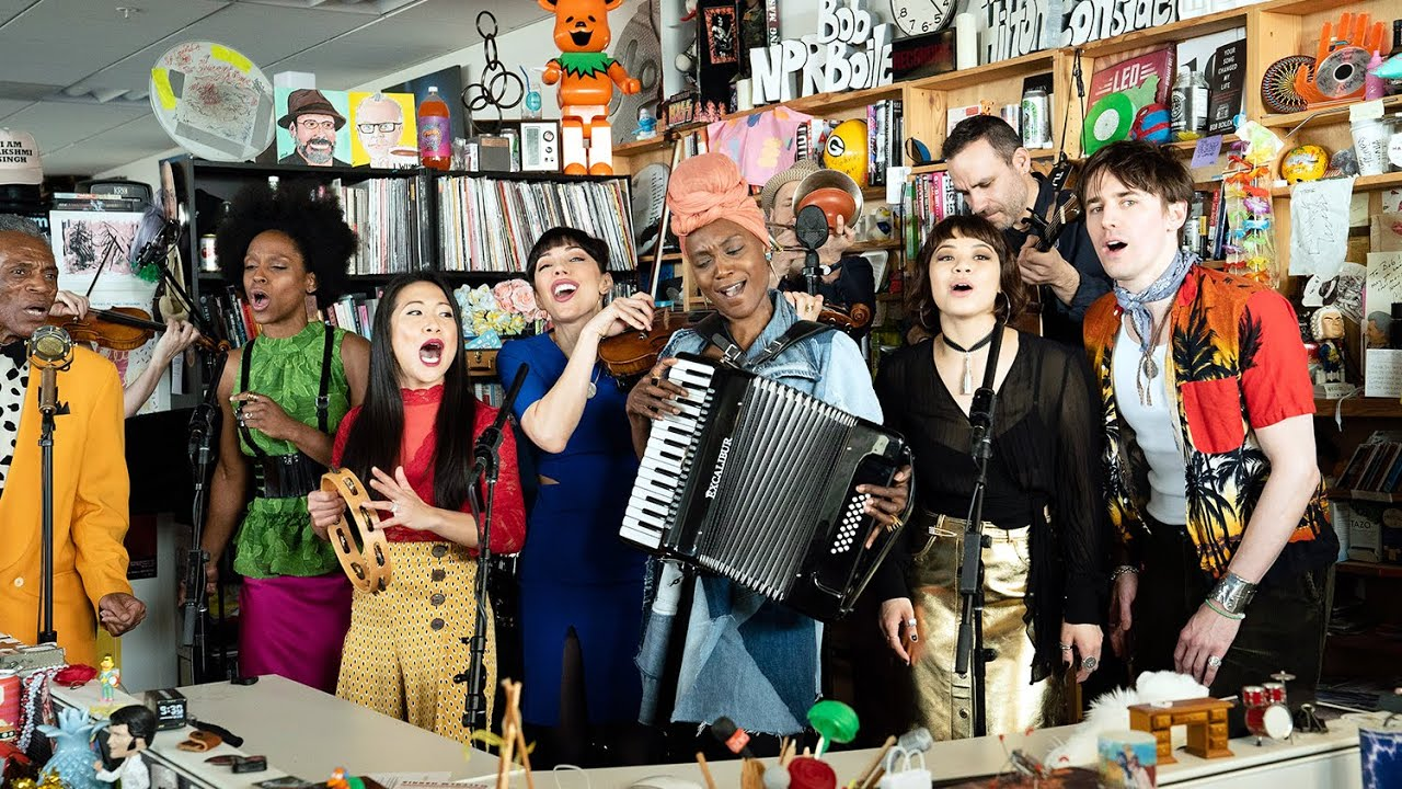 Hadestown: NPR Music Tiny Desk Concert