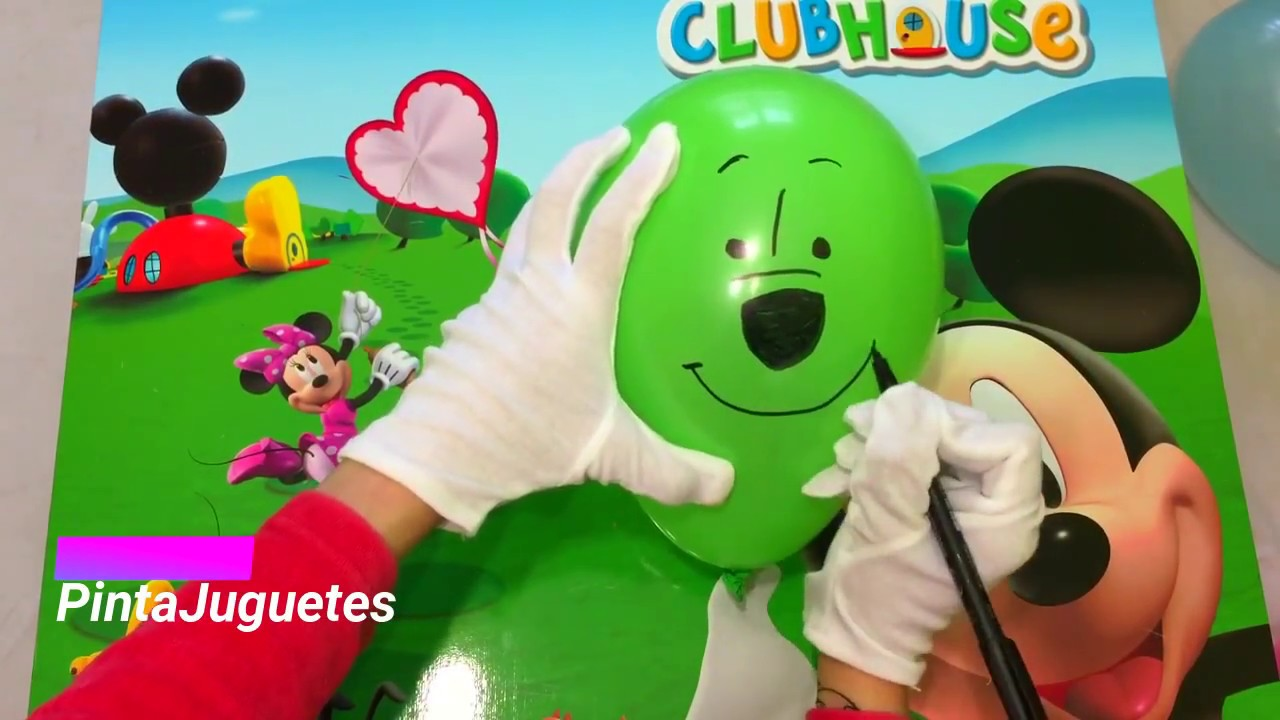 Dibujos animados - Pintando globos de dibujos animados - YouTube
