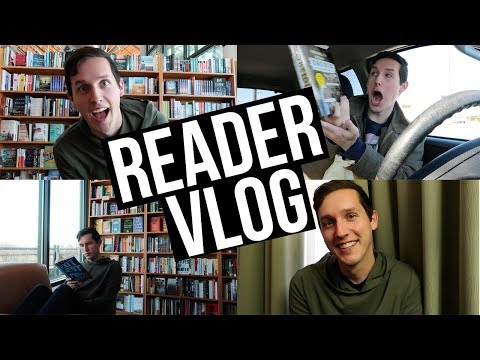 CAN I LIVE IN THIS BOOKSTORE? | READER VLOG
