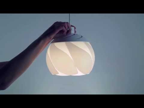 Piroulet: Adjustable Luminaire
