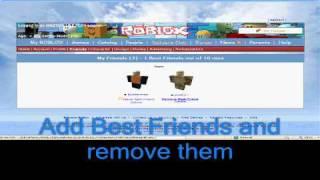 ROBLOX - New Profile Tutorial (7/23/2009)