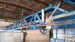 видео Монтаж кран-балки электрической подвесной