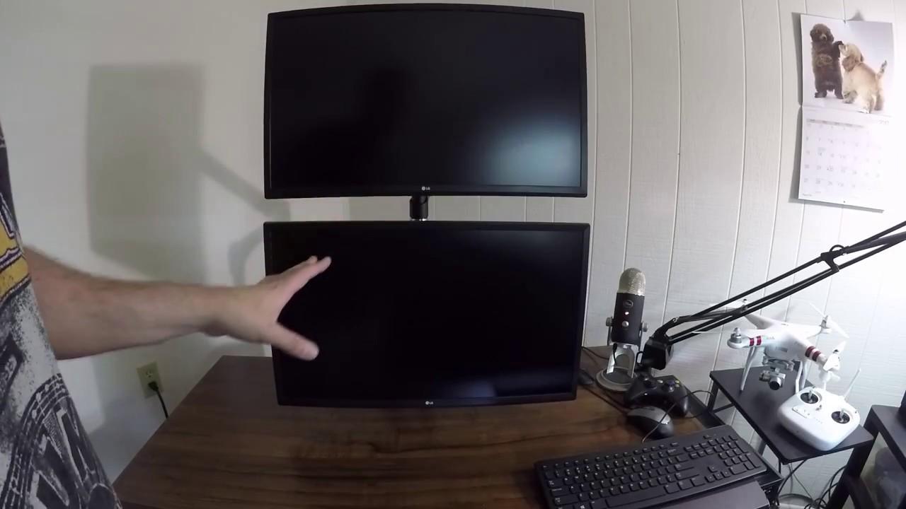 VIVO Dual Monitor Arm Desk Mount Stand STANDV002V