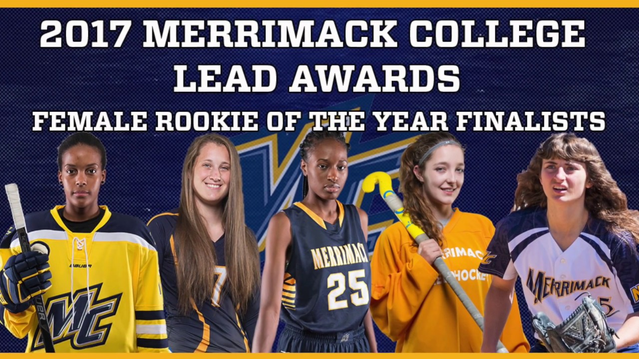Merrimack college athletics 2017 female rookie of the year finalists sciox Images