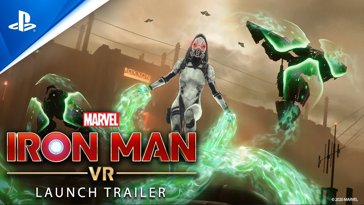 Marvel's Iron Man VR – Launch Trailer - PS VR