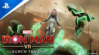 Marvel's Iron Man VR - Launch Trailer | PS VR