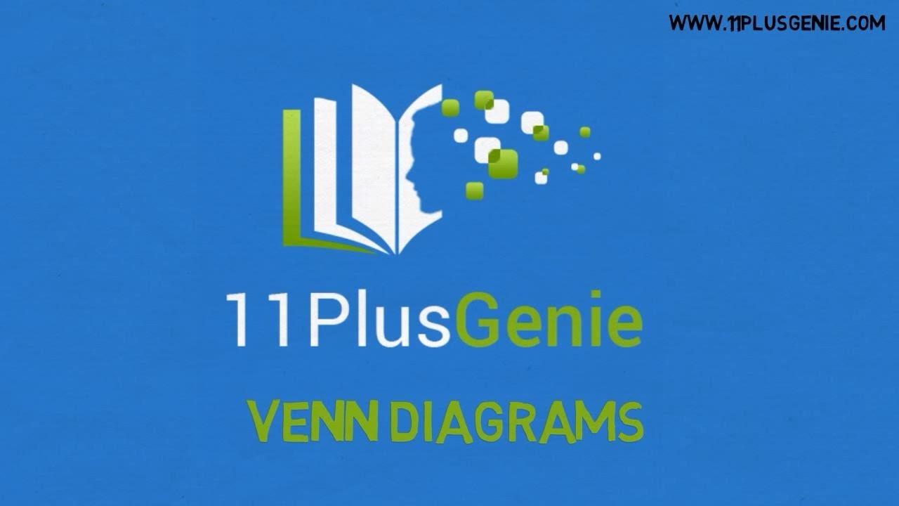 11 Plus Genie Mathematics - Venn Diagrams