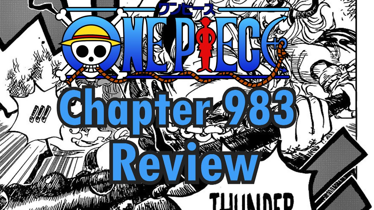 One Piece chapter 983 Review - YouTube