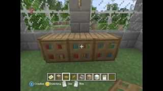 minecraft xbox 360 [ awesome furniture to build]