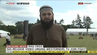 SKY NEWS: Response to ISIS Video by Ahmadiyya Muslim Youth