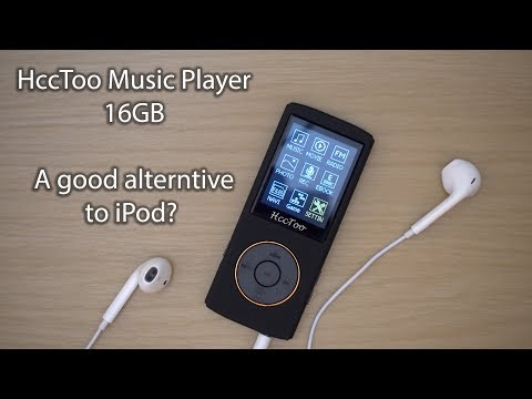 HccToo Music Player 16GB - Unboxing and First Look