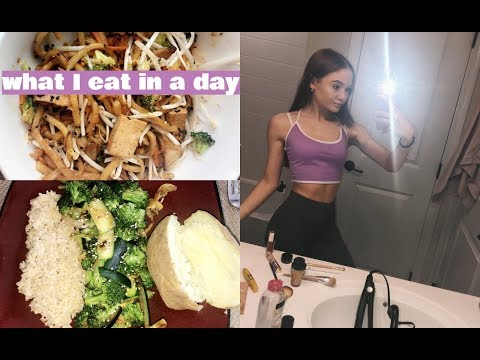WHAT I EAT IN A DAY teen veganplantbased