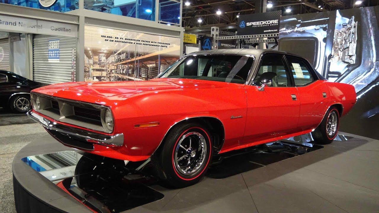 1970 Plymouth 4 Door Barracuda At Sema 2017 One Of None Built By Chrysler Corp