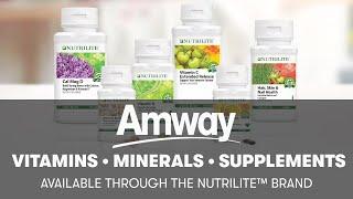 Nutrilite Vitamins, Minerals & Phytonutrient Supplements | Amway