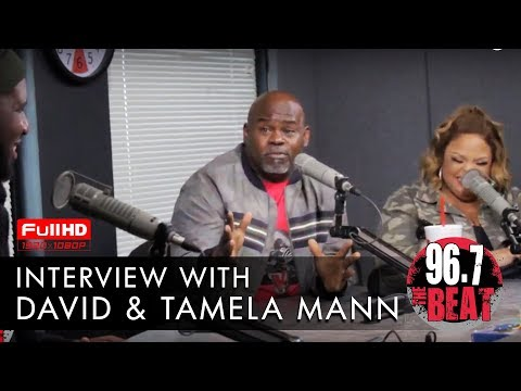 DJ Scream - David & Tamela Mann Interview with DJ Scream & Moran Tha Man