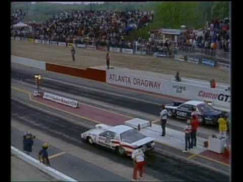 Bob Glidden NHRA Pro Stock Crash