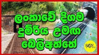 Longest Railway Tunnel in Sri Lanka | Beliatta Railway Station | Matara-Kataragama Railway