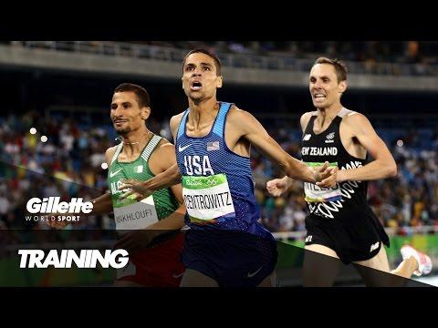 1500m Training with Matthew Centrowitz | Gillette World Sport