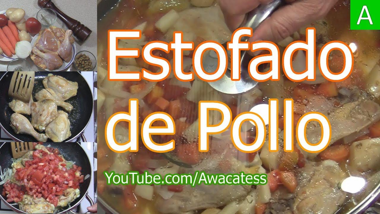 Como hacer estofado de pollo con verduras recetas de for Rectas de cocina faciles
