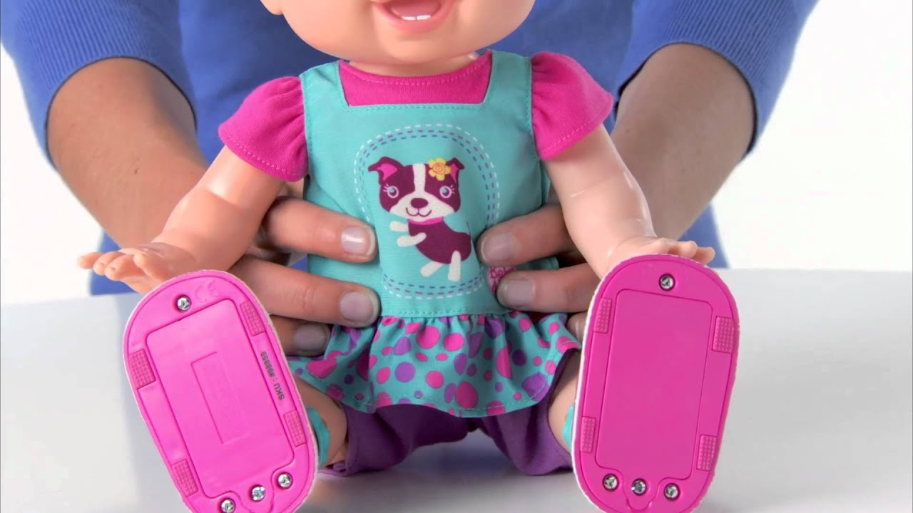 BABY ALIVE BABY WANNA WALK Doll