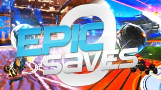 ROCKET LEAGUE EPIC SAVES 9 ! (BEST SAVES BY COMMUNITY & PROS)