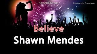 "Shawn Mendes Believe from Disney ""Descendants"" Instrumental Karaoke Version without lyrics"